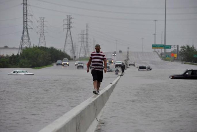 Mỹ: Bức ảnh gây sốc trong bão Harvey - Ảnh 4.