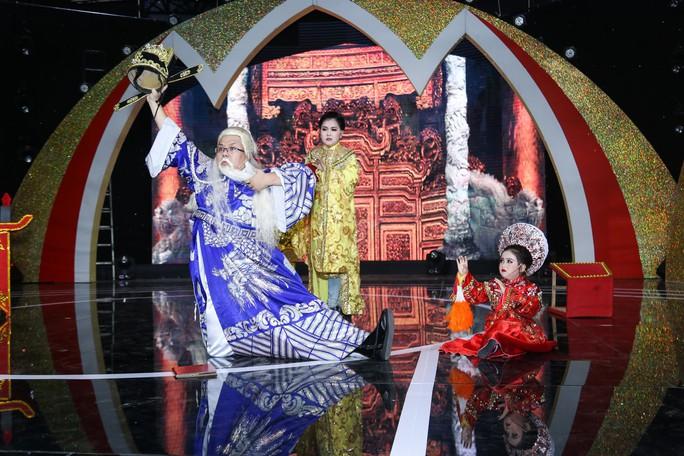Thí sinh nhí 5 tuổi thử sức với vai diễn nặng ký Thượng Dương hoàng hậu - Ảnh 5.