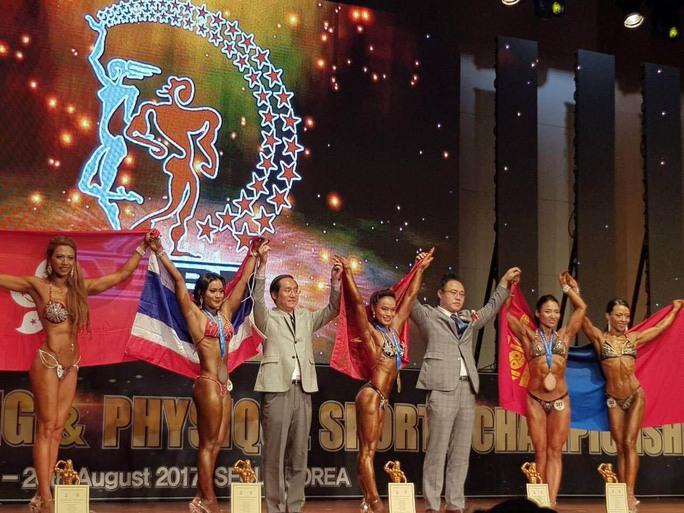 Thể hình Việt Nam giành 3 ngôi vô địch châu Á - Ảnh 1.