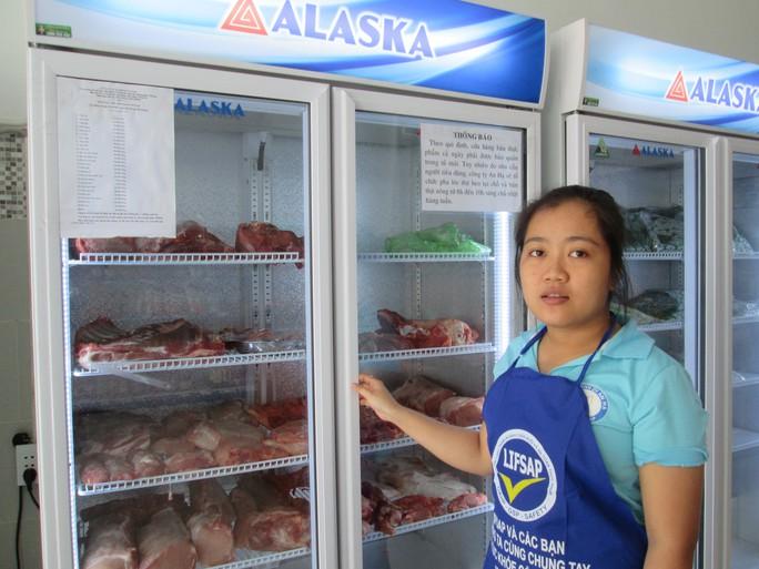 TP HCM có điểm bán thịt heo 35.000 đồng/kg - Ảnh 1.