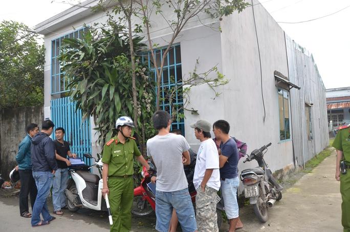 Căn nhà nơi xảy ra vụ giết người tại phường Hòa Khánh Nam