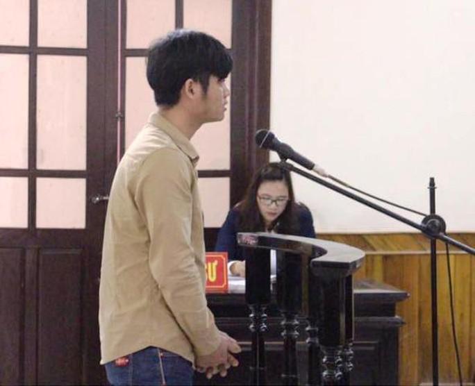 Bị cáo Trần Anh Tuấn tại phiên tòa