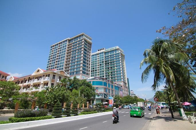 Đường Trần Phú là nơi có nhiều dự án kinh doanh căn hộ du lịch nhất Nha Trang