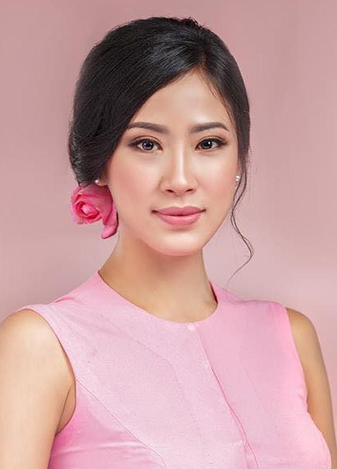 Cận cảnh nhan sắc tân Hoa hậu Hoàn vũ Myanmar - Ảnh 4.