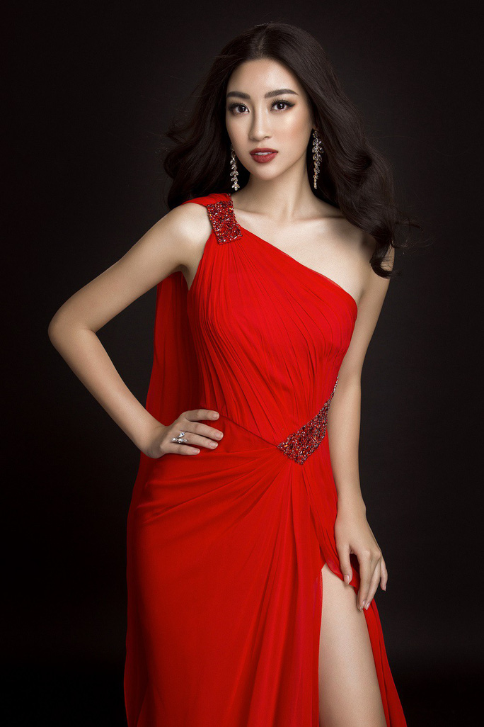 Ngắm đầm dạ hội Mỹ Linh mang đến Hoa hậu Thế giới 2017 - Ảnh 1.
