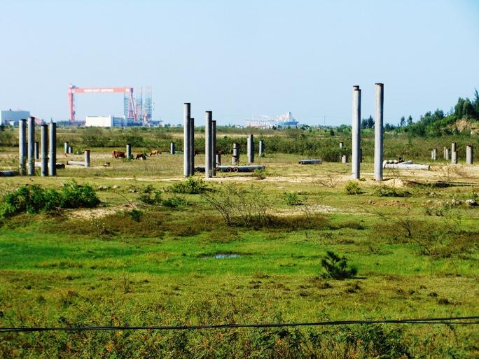 Sau 10 năm triển khai, Nhà máy thép Guang Lian Dung Quât được chuyển giao cho Tập đoàn Hòa Phát. Ảnh: Tử Trực