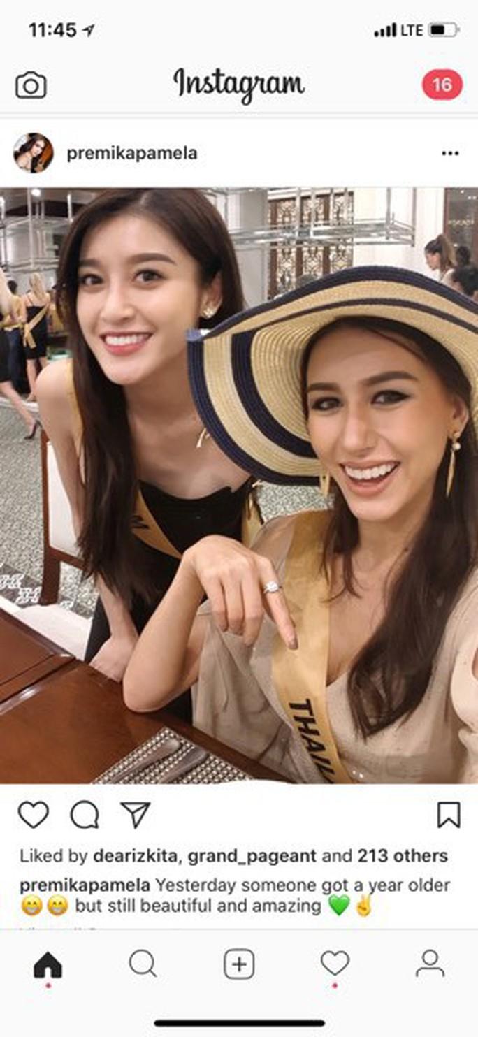 Huyền My được hoa hậu các nước gửi lời chúc mừng sinh nhật - Ảnh 1.