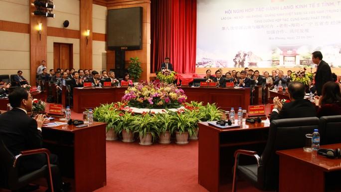 Hợp tác hành lang kinh tế 5 địa phương Việt - Trung - Ảnh 1.