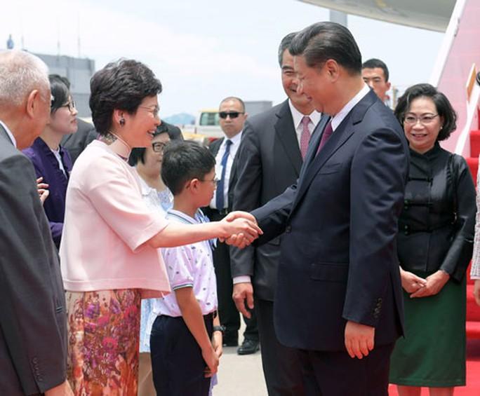 Chuyến thăm Hồng Kông nhiều mục đích của Chủ tịch Trung Quốc - Ảnh 1.