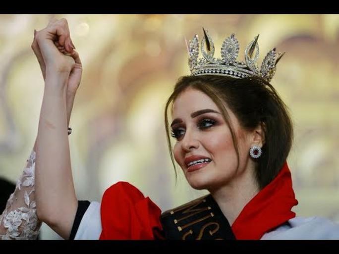 Tân Hoa hậu Iraq mất vương miện vì từng kết hôn - Ảnh 1.