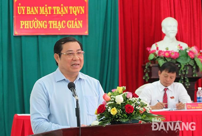 Người nhắn tin khai lý do dọa giết Chủ tịch Đà Nẵng Huỳnh Đức Thơ - Ảnh 1.