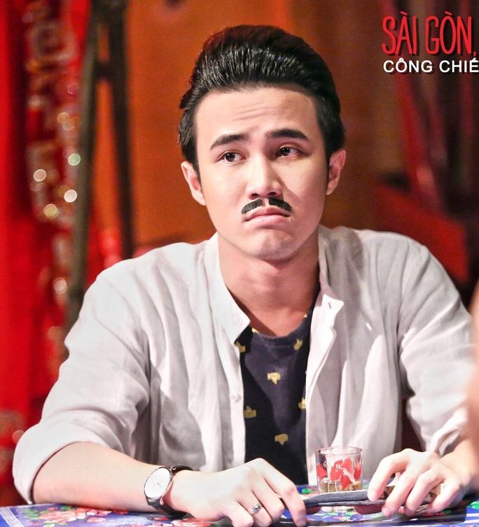 """Huỳnh Lập, gương mặt trẻ được đánh giá cao trong phim """"Sài Gòn, anh yêu em"""". (Ảnh do nhà sản xuất phim cung cấp)"""