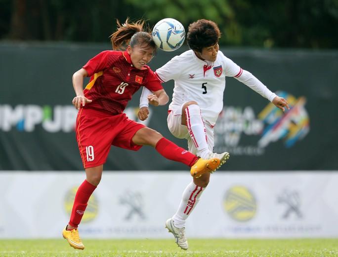 Tuyển nữ Việt Nam quyết thắng tuyển Thái - Ảnh 1.