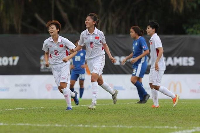 Ghi 3 bàn những phút cuối, nữ Việt Nam thắng đậm Philippines - Ảnh 5.