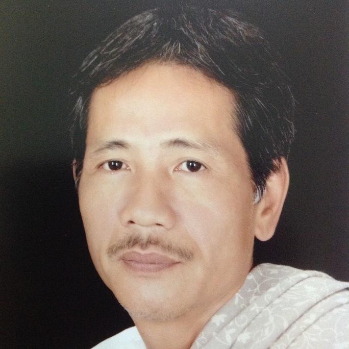 Nhà viết kịch Lê Chí Trung. Ảnh: Thanh Điền