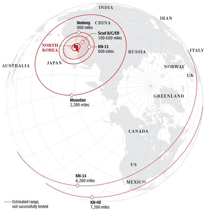 Tên lửa Triều Tiên đe dọa bất cứ địa điểm nào trên thế giới - Ảnh 3.