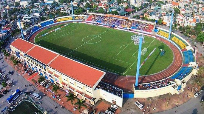 Sân Cẩm Phả đáp ứng tiêu chí sân bãi nhưng lại cách xa sân bay quốc tế