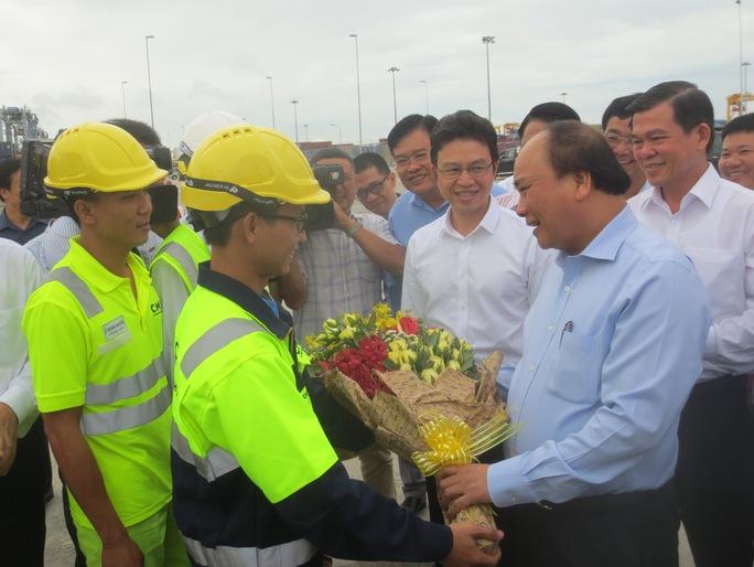 Thủ tướng đồng ý với kiến nghị của cảng Cái Mép - Ảnh 2.