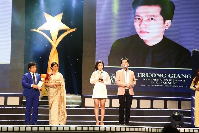 Trường Giang và Miu Lê nhận giải