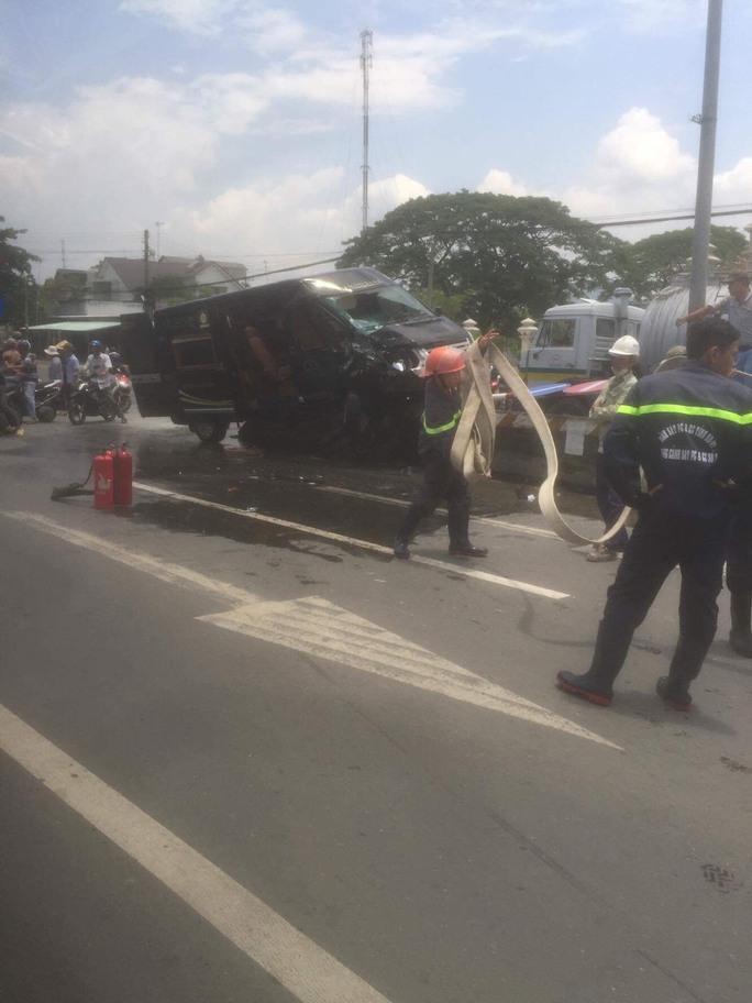 Vụ tai nạn khiến 4 người bị thương