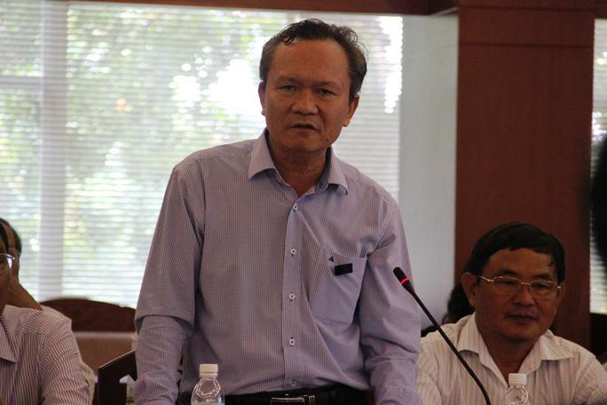 Ông Tào Anh Tuấn, Phó Giám đốc Sở NN-PTNT tỉnh Khánh Hòa cho biết sẽ thông báo lại nội dung mà báo chí phản ánh đến lãnh đạo sở và cá nhân ông Kiệt