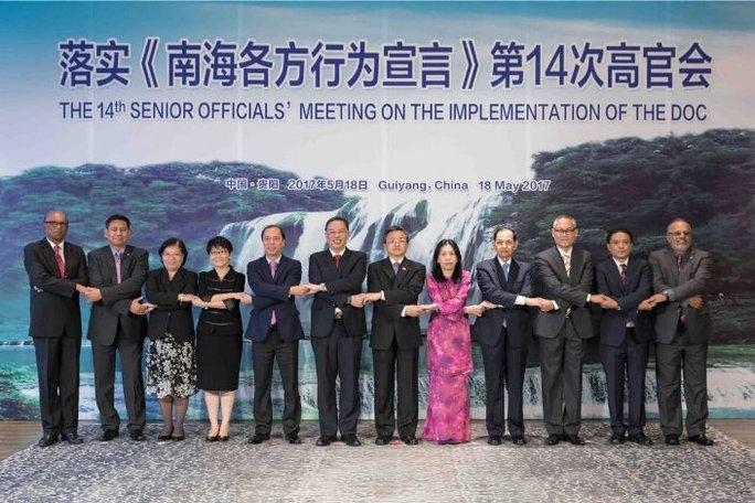 ASEAN và Trung Quốc ghi nhận kết quả về dự thảo khung COC - Ảnh 2.