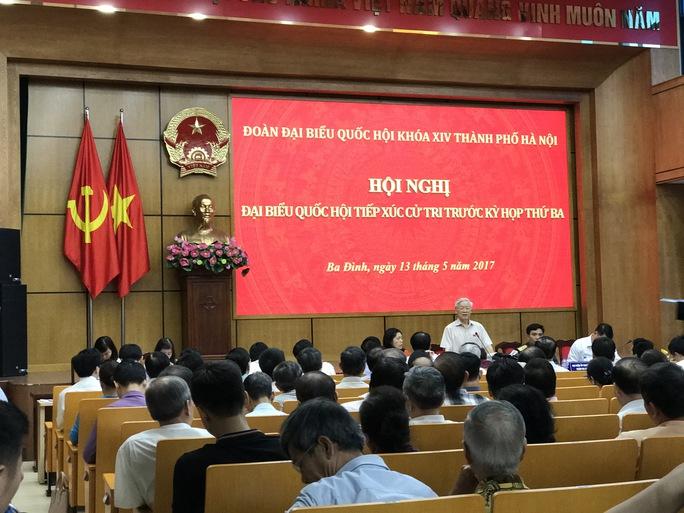 Tổng Bí thư nói về việc xử lý ông Đinh La Thăng - Ảnh 1.