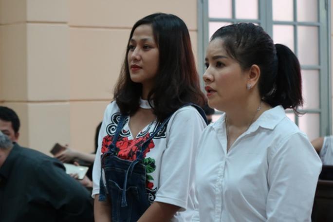 Diễn viên Ngọc Trinh khóc nức nở trước tòa - Ảnh 4.