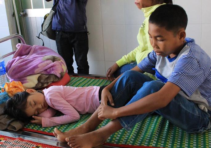 Các nạn nhân được cấp cứu tại Bệnh viện Đa khoa TP Buôn Ma Thuột