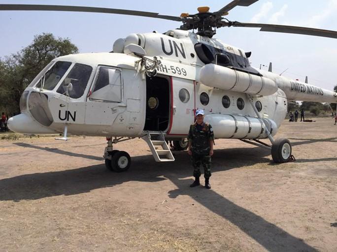 Sau đêm giao thừa đáng nhớ, đại úy Nguyễn Đức Thắng lại tiếp tục lên đường tuần tra