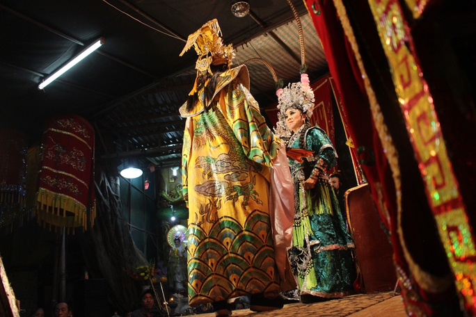 Trong dịp lễ, người dân thường tổ chức nhiều hoạt động như: Lễ rước Tổ hát bội, Lễ Thỉnh sắc, Lễ Nghinh và tụng kinh cầu an, Lễ Thỉnh sanh, Lễ Túc yết, Lễ Xây chầu, Hát chầu, Lễ Chánh tế hoặc Đàn cả... Trong đó hoạt động hát chầu (hát tuồng cổ) được người dân mong chờ nhất.