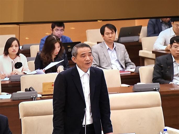 Bộ trưởng GTVT Trương Quang Nghĩa phát biểu giải trình về tình hình tai nạn đường sắt-Ảnh: Văn Duẩn
