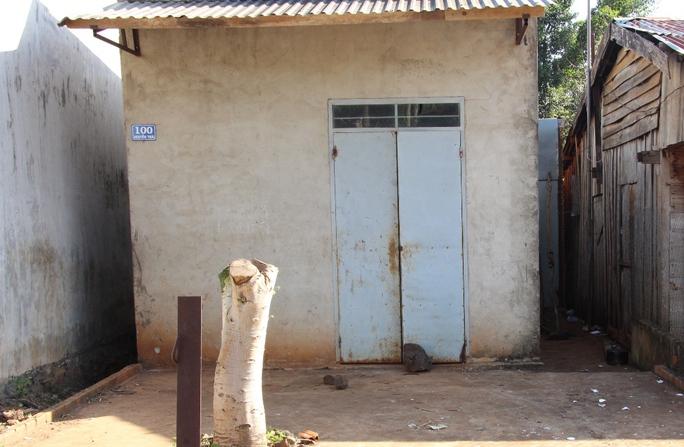 Căn nhà nơi xảy ra án mạng