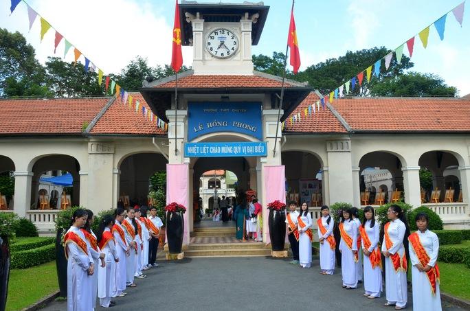 Lê Hồng Phong – Ngôi trường của những ngôi sao - Ảnh 3.
