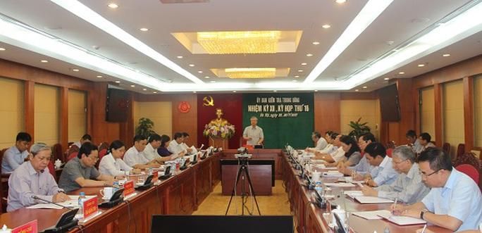 Uỷ ban KTTW đề nghị miễn nhiệm Thứ trưởng Hồ Thị Kim Thoa - Ảnh 1.