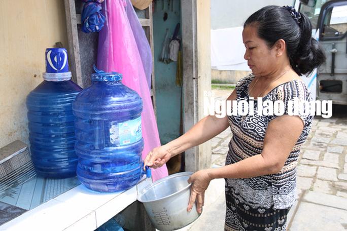 Hàng ngàn hộ dân Hội An lao đao vì cúp nước - Ảnh 1.
