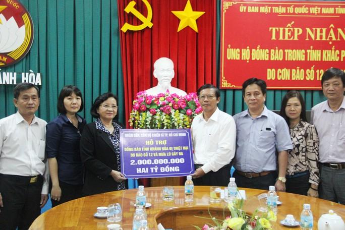 TP Hồ Chí Minh hỗ trợ người dân Khánh Hòa 2 tỷ đồng - Ảnh 1.
