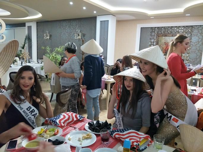 Khánh Ngân vào tốp 5 Hoa hậu Sắc đẹp Toàn cầu - Ảnh 2.