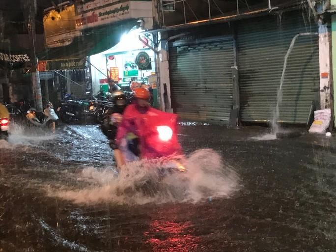 Bão số 14 gây mưa to gió lớn ở TP HCM - Ảnh 6.