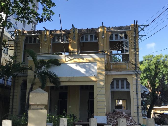 Tự ý tháo dỡ biệt thự cổ ở quận 3 - Ảnh 3.
