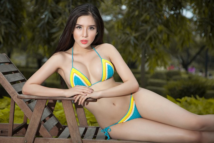 Khánh Phương thay Thùy Dung  tranh vương miện Hoa hậu Siêu quốc gia - Ảnh 4.