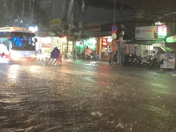 Bão số 14 gây mưa to gió lớn ở TP HCM - Ảnh 4.