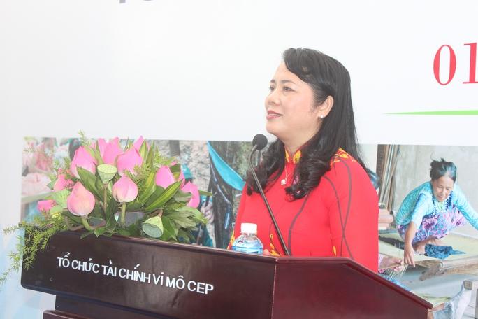 Tổ chức tài chính vi mô CEP: Tiếp tục đồng hành với người nghèo - Ảnh 2.