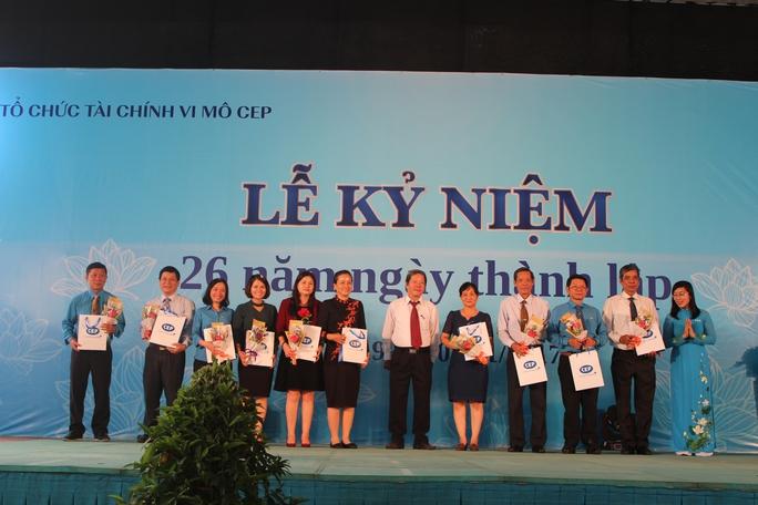 Tổ chức Tài chính vi mô CEP: Điểm tựa tin cậy của người lao động nghèo - Ảnh 2.