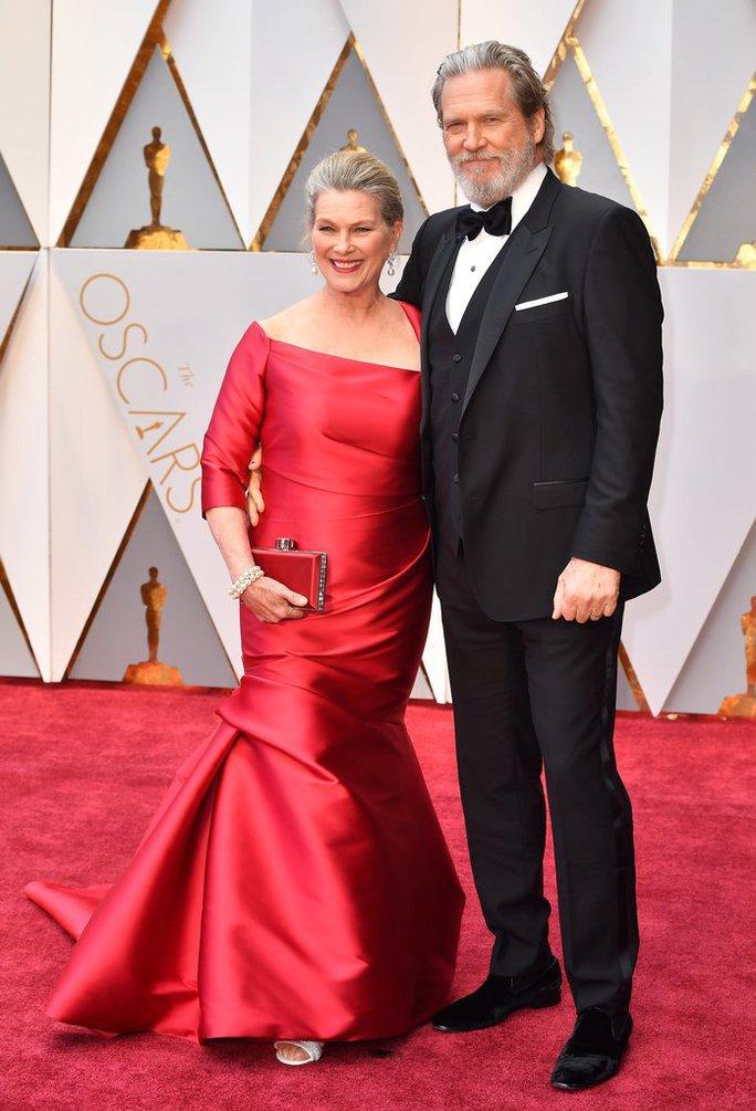 Ngôi sao Jeff Bridges và vợ Susan Bridges