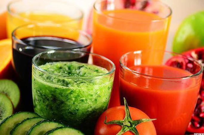 Uống nhiều nước ép trái cây sẽ hại cho thai - Ảnh 1.