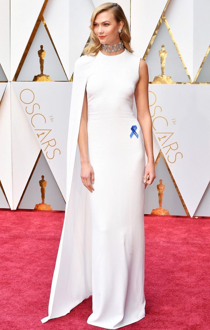 Chiếc nơ xanh xuất hiện tràn ngập tại lễ trao giải Oscar lần thứ 89