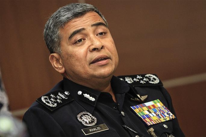 Cảnh sát trưởng Khalid Abu Bakar Ảnh: MALAYMAIL