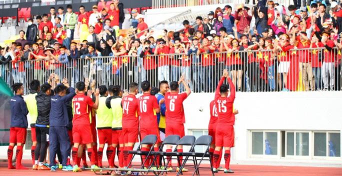 U19 Việt Nam thắng kịch tính, giành vé dự VCK - Ảnh 2.