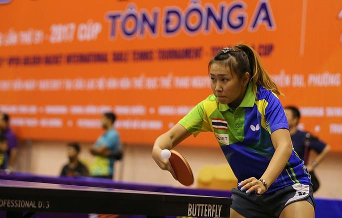 Thái Lan, Hàn Quốc A vô địch đồng đội Giải Cây vợt vàng 2017 - Ảnh 1.